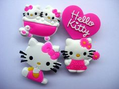 ca0316b703a2f 20 Hello Kitty Shoe Charm Fits Jibbitz Croc Shoes   Bracelets