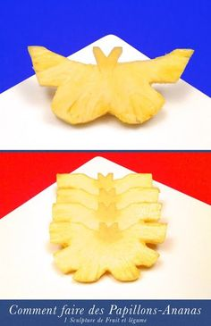 Collations Amusantes: les Papillons-Ananas