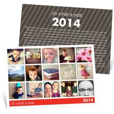 Highlight your favorite memories from the past year on these holiday photo cards that are perfect for Instagram photos. #instagram http://www.peartreegreetings.com/Holiday-Cards/Holiday-Photo-Cards/2775-17546HPFC-Snapshots-of-a-Year--Holiday-Photo-Cards.pro
