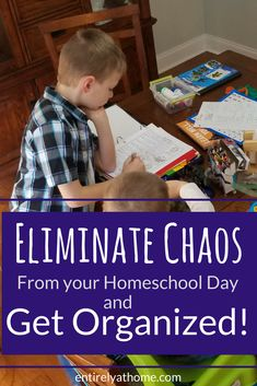 Organizing your homeschool day can be challenging. Here are some great tips to helping bring order to your homeschool day! #homeschoolmom #homeschoolplanning #homeschoolmom #homeschooling #homeschool #homeorganization #momlife