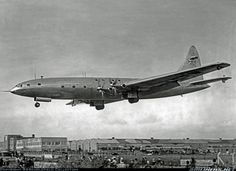 Bristol 167 Brabazon Mk1 - The sole Brabazon on finals to its Filton birthplace at the conclusion of its 2 1/2 hour second test flight. Pwered by eight Centaurus piston engines coupled in pairs. A second example, to be powered by Proteus turboprops was registered as G-AIML but broken up when half complete. G-AGPW was dismantled at Filton in October 1953. Obtained from Bristol 60 years ago.
