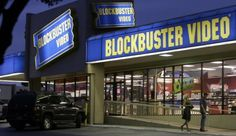 The End Of An Era... I spent the beginning of countless sleep overs at  Blockbuster on Friday nights with my friends picking out movies for the night;(