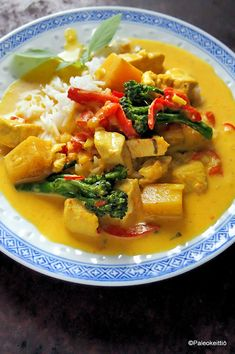 Thai Red Curry, Mango, Food And Drink, Ethnic Recipes, Manga
