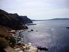 Porto de Firon e nosso navio ao fundo...