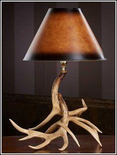 Antler Lamp by AntlerBarn on Etsy