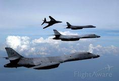 B-1B Bones, fingertip formation Heavy Bomber style!