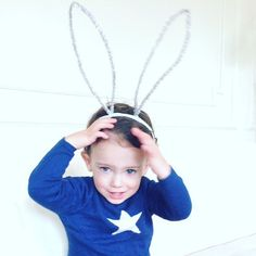 Oreilles de lapin  serre tête  Easter pâques par HelloBellacicci