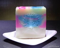 Bar Soap  Birthday Cake Scented  Handmade Artisan Bar Soap Handmade Soaps, Bar Soap, Artisan, Birthday Cake, Unique Jewelry, Desserts, Etsy, Food, Tailgate Desserts