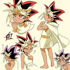 Soft pharaoh, warm pharaoh, little ball of Duels ~Atem & Yugi~
