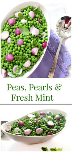 Peas, Pearls and Fresh Mint | Simply Fresh Dinners