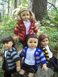 """free Harry Potter sweater pattern for 18"""" dolls ....  have to make 2 of these!!"""