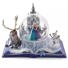 "Disney Frozen Wonders Within ""An Act of True Love"" Musical Water Globe,"