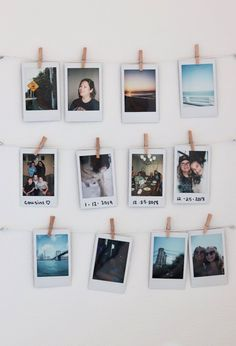 polaroid wall diy (ps you have a beautiful heart and soul 💕) Polaroid Wand, Polaroid Display, Polaroid Pictures Display, Room Ideas Bedroom, Small Room Bedroom, Hipster Bedroom Decor, Hipster Rooms, Crystal Room, Teen Decor