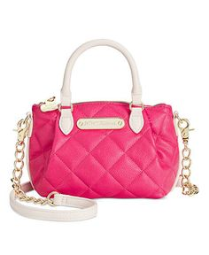 a445368204 Betsey Johnson Quilted Mini Crossbody - Betsey Johnson - Handbags  amp   Accessories - Macy s Quilted