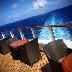 Wake-view Wednesday. #DisneyCruise