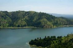 Lake Peligre  central plateau, Haiti.