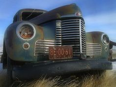 Old Alberta Truck with Blur