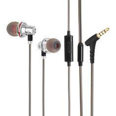 8c87d286105 QKZ KD3-UFO Pro In Ear Earphone HIFI EarbudsLine Control Moving Headset With  Mic