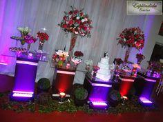 Iluminação Decorativa para Mesa do Bolo - Esplêndida Eventos!