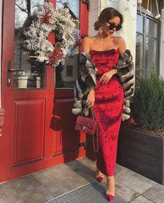 50 Elegant Red Dresses For Every Occasion Elegant Dresses Classy, Classy Dress, Elegant Outfit, Classy Outfits, Chic Outfits, Beautiful Dresses, Elegant Girl, Classy Girl, Red Dress Outfit