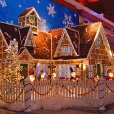10Best: Great places to see gingerbread houses
