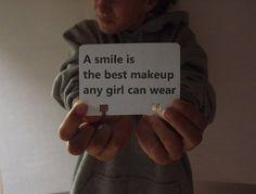 Wear a smile!