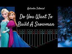 Snowman 6, Frozen Snowman, Build A Snowman, Frozen Youtube, Kalimba, Hammered Dulcimer, Music Sheets, Piano Lessons, Best Budget