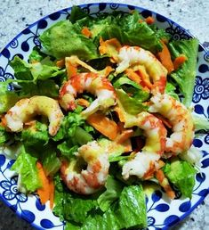 Sweet Recipes, Salad Recipes, Shrimp, Salads, Meat, Food, Essen, Meals, Yemek