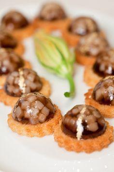 Amuses Bouches - Four Seasons Hotel George V  #appetizer #apéritifs #tapas