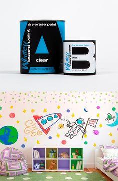 Whiteyboard - dry erase paint