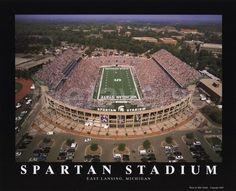 ThanksSpartan Stadium, Michigan State University awesome pin