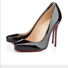"Christian Louboutin Elisa Pumps A ladylike staple in Italian leather says elegance. Self-covered heel, 4"" (100mm) Rounded toe Leather lining Padded insole Signature red leather sole Made in Italy pre loved Christian Louboutin Shoes Heels"