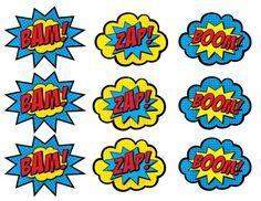 Superhero Clip Art Comic Bubbles   Clipart Panda - Free Clipart Images
