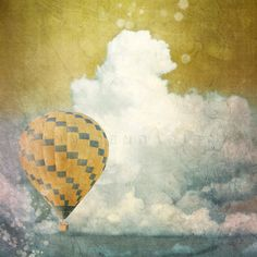 Nature photography, Landscape photography, Travel decor, modern decor, hot air balloon, Romantic Wall Art, Pastel colors by PhotographyDream on Etsy https://www.etsy.com/listing/99451203/nature-photography-landscape-photography
