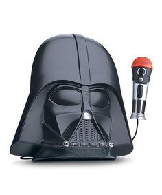 Another great find on #zulily! Star Wars Darth Vader Voice Changer Boombox #zulilyfinds