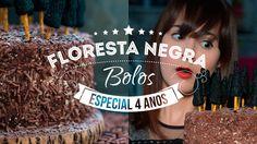 BOLO FLORESTA NEGRA   HALLOWEEN   121 #ICKFD Dani Noce - YouTube