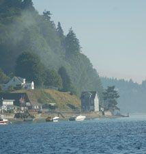 Puget Sound Facts  Img: Puget Sound Shoreline, Rae A. McNally