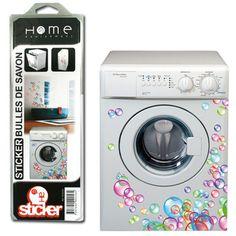 stickers lave linge w0031 buanderie pinterest stickers. Black Bedroom Furniture Sets. Home Design Ideas