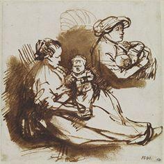 old master pen and ink drawings - Google'da Ara