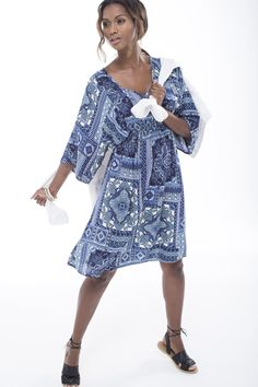 The printed bodycon midi dress. Tie Dye Patterns, Shoe Shop, Art Direction, Fashion Online, Stylists, Fashion Accessories, Cold Shoulder Dress, Feminine, Plus Size