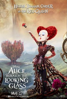 Alice Through the Looking Glass Movie Poster of Red Queen
