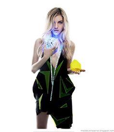 Campaña BAFWEEK otoño invierno 2012. Modelo: Naomi Preizler