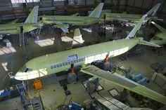 Суперджет SSJ-100 - 5 лет в строю - Fyodor Photography