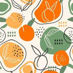 Fruit Illustration, Pattern Illustration, Food Patterns, Print Patterns, Fruits Drawing, Fruit Vector, Apple Watch Wallpaper, Web Design, Colorful Fruit