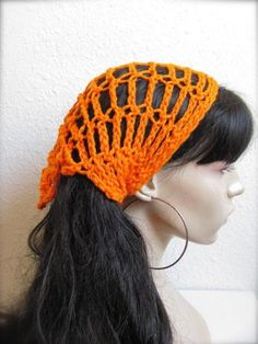 http://www.artfire.com/ext/shop/product_view/bykeona/2047102/orange_hand_crochet_gypsy_style_sodie_gator_hair_wraps__bandana__scar/handmade/accessories/hair/bandanas