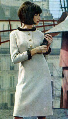 "1960's. Like the dress, absolutely ""Love"" the hairstyle!!!!! :D Xxxxxx"