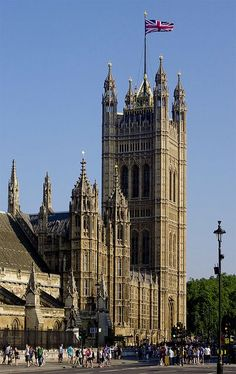 Victoria Tower, Westminster, London