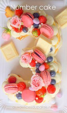 Ideas Birthday Images Dessert Recipes For 2019 Best Birthday Images, Cake Lettering, Buckwheat Cake, Number Cakes, Cake Trends, Cookies Et Biscuits, Savoury Cake, Recipe Notes, Original Recipe