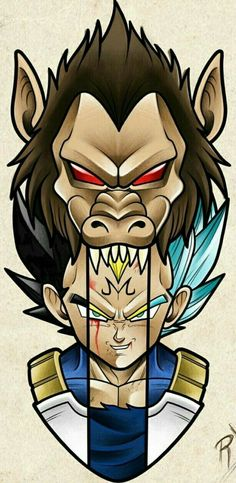Daily dragon ball the many forms of Vegeta & Manga Dragon Ball Gt, Dragonball Anime, Z Tattoo, Anime Tattoos, Geeks, Cover Design, Fanart, Son Goku, Artwork