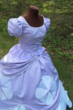 Princess Sofia Ladies Costume - Custom Made : princess sofia costume for adults  - Germanpascual.Com